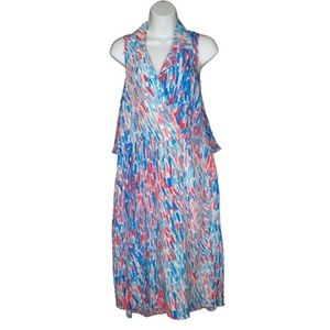 Anthro Tracy Reese Silk Layered Dress Chiffon M